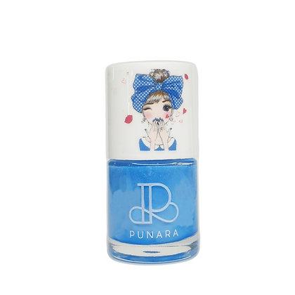 ยาทาเล็บเด็ก สูตรน้ำ สีฟ้าพาสเทล Water Based Nail Polish - Berry 10ml.