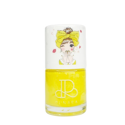 ยาทาเล็บเด็ก สูตรน้ำ สีเหลืองพาสเทล  Water Based Nail Polish - Belle 10ml.