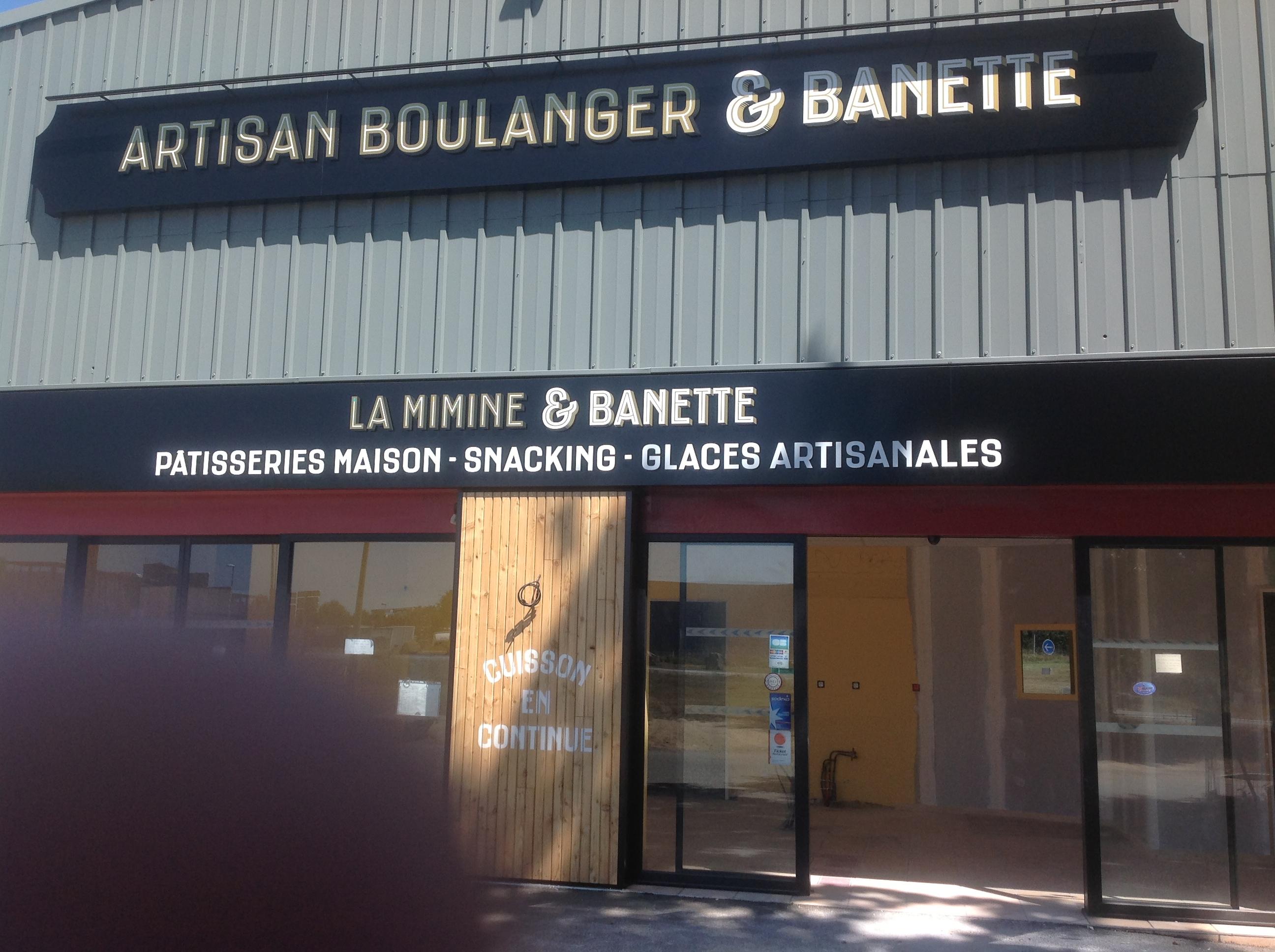 """Boulangerie """"LaMimine & Banette"""" à Sainte Luce Sur Loire"""