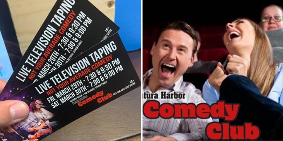 Ventura Comedy Club w Phil Medina - Live Taping for NYAComedy.com!