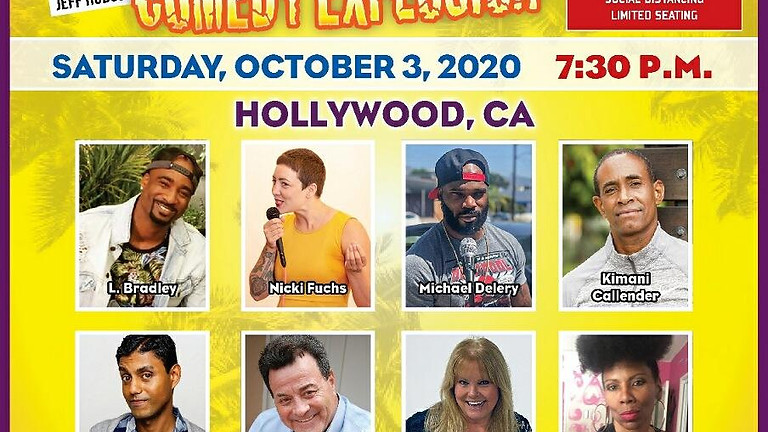 Jeff Hodge & Friends Comedy Explosion Oct 3 Hollywood California
