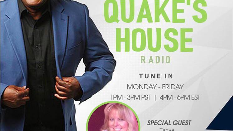 EarthQuake Show SiriusXM Channel 96 Tuesday 09/22