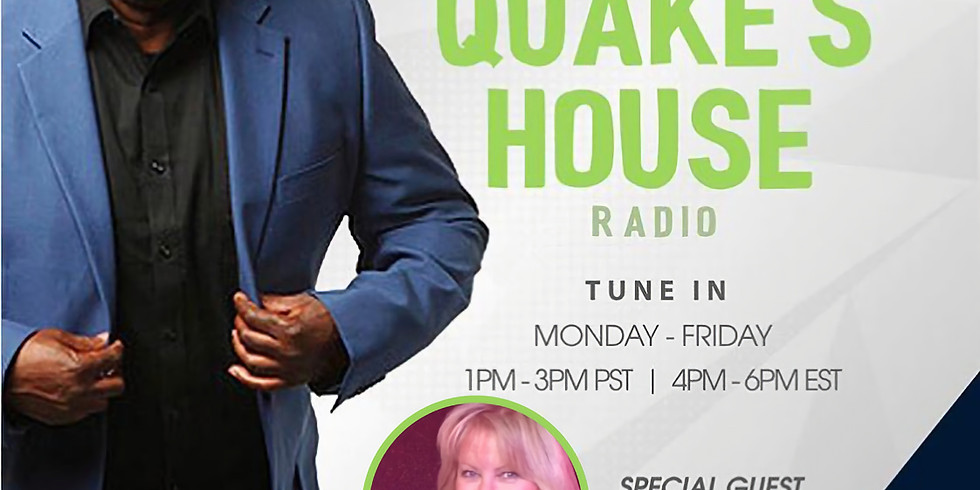 SiriusXM The EarthQuake Show Wed - 1:00 pm PST till 3:00 pm