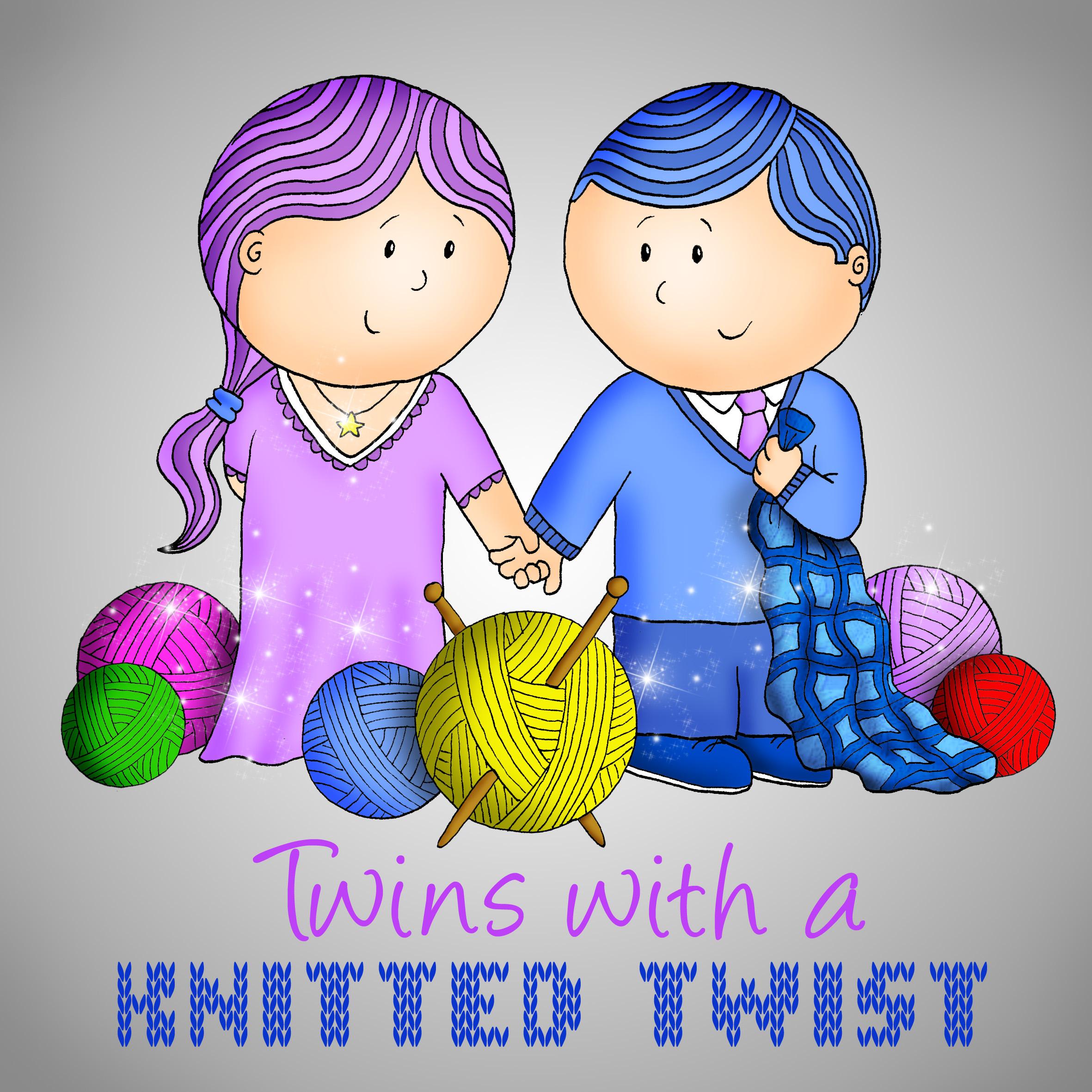 KnittedTwistLogoGrey
