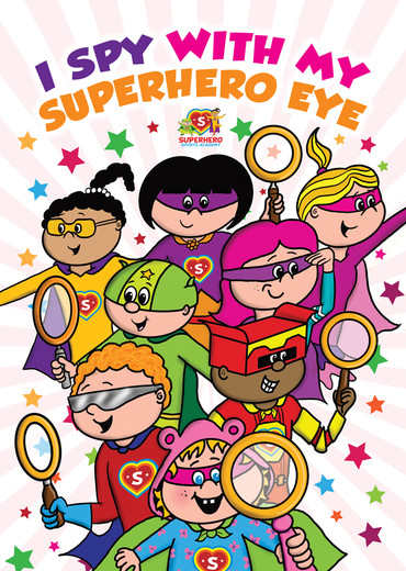 I Spy With My Superhero Eye