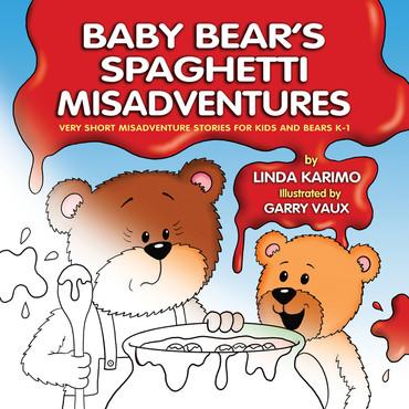 Baby Bear's Spaghetti Misadventures Colouring Boo