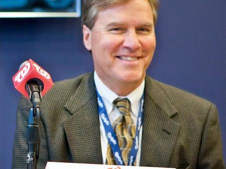 Bob Carpenter, MASN TV play-by-play voice of the World Champion Washington Nationals