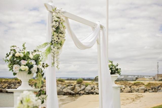 beach wedding western australia