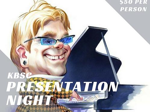 Presentation Night Ticket - Child under 12