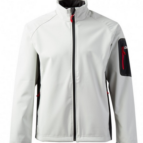 Men's Team Softshell Jacket - Silver