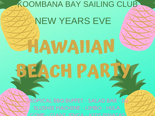 KBSC NYE - HAWAIIAN BEACH PARTY - CHILD TICKET