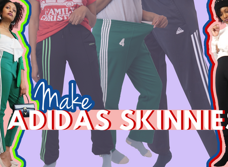 Make Any Adidas Track Pants Skinny