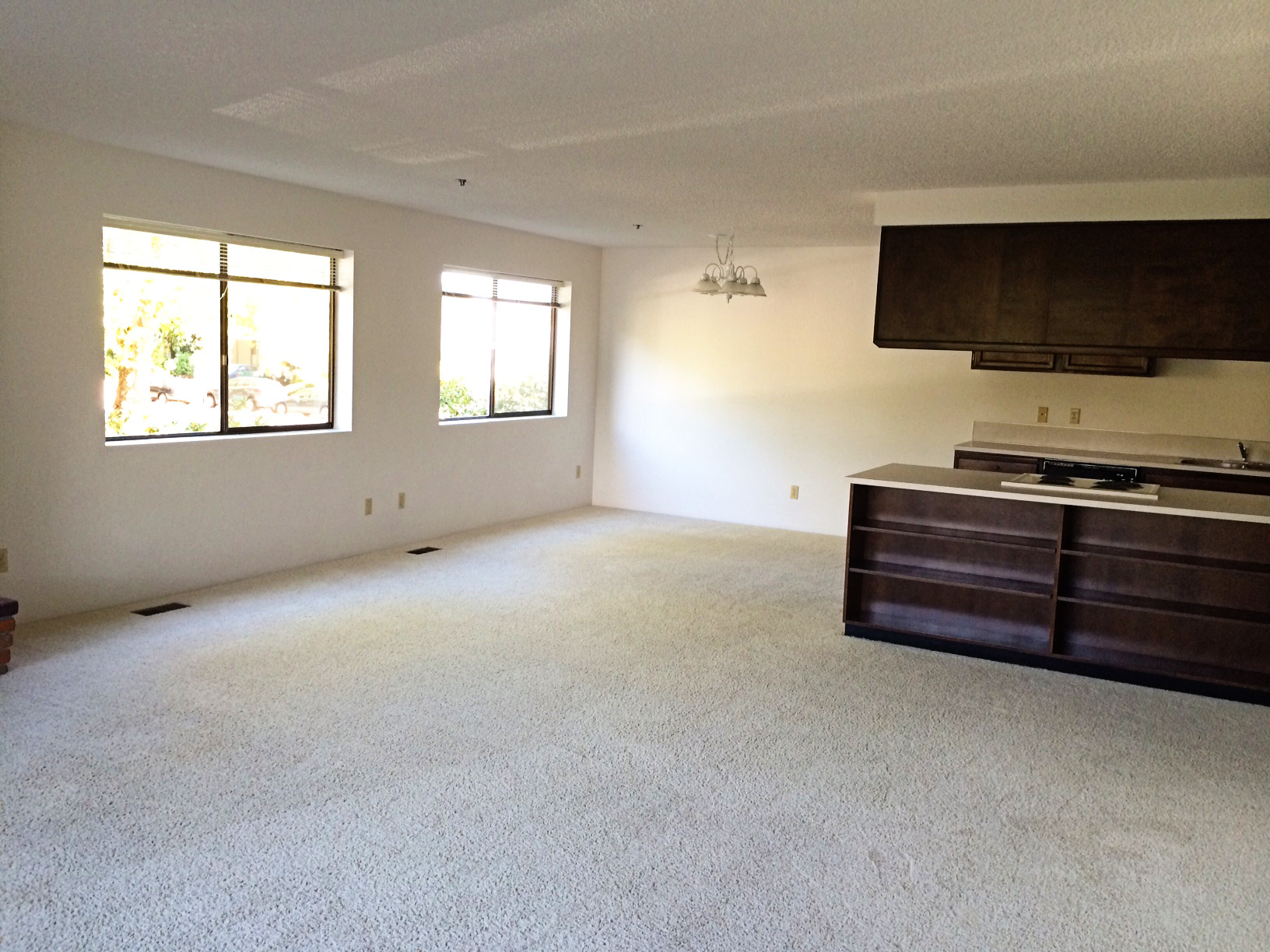 Living Room to Dining Room/Kitchen