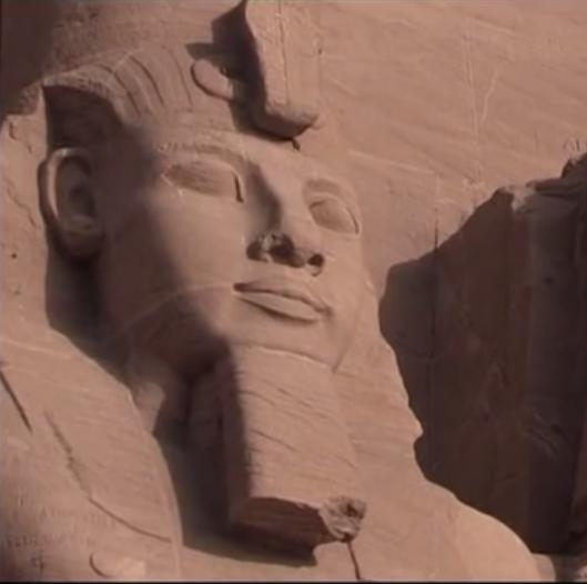 RAMSES 2, PHARAON de la Nubie