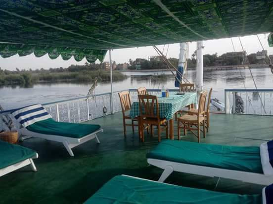 Table des repas au coeur du Nil