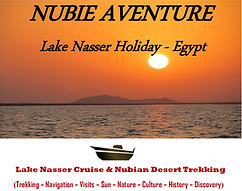 Pharaonic Temples'visits, Cruiser Nile, Nasser Lake Navigation, Nubian Desert Trekkings, Wild Life,
