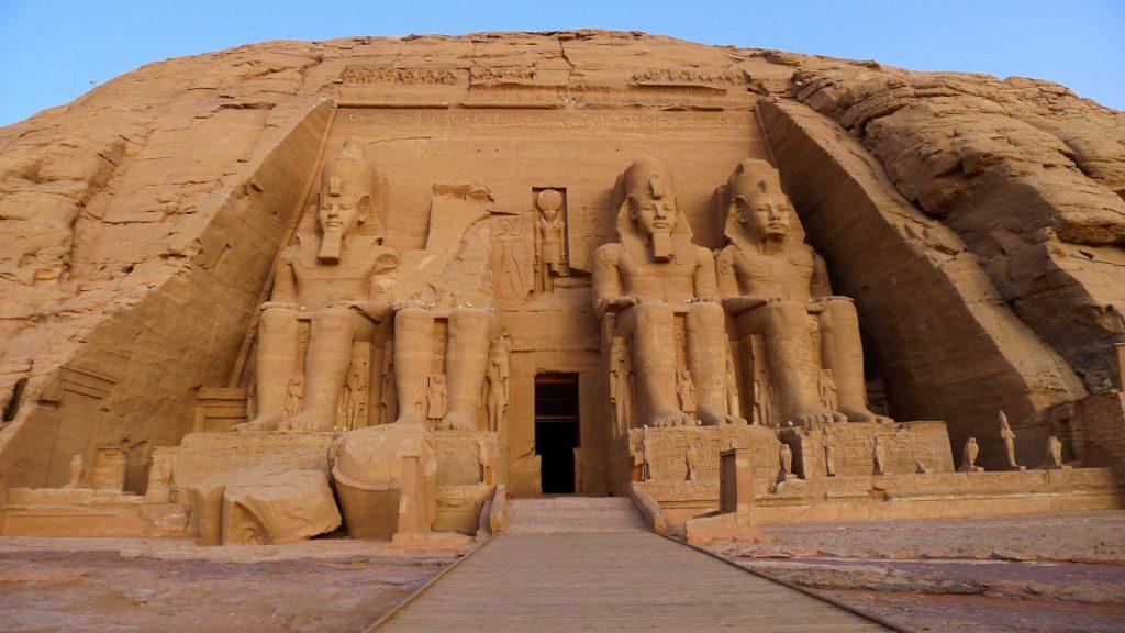Temple de Ramses II à Abou Simbel