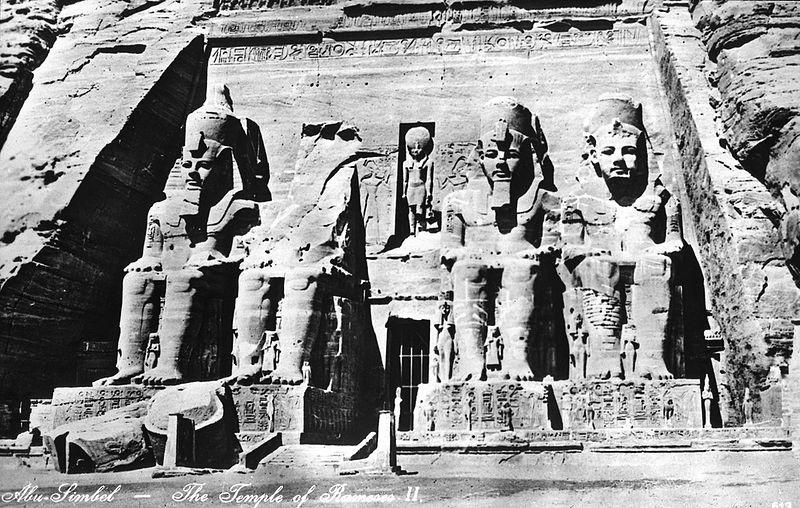 Temple Ramses II site originel, d'Abou Simbel.jpg