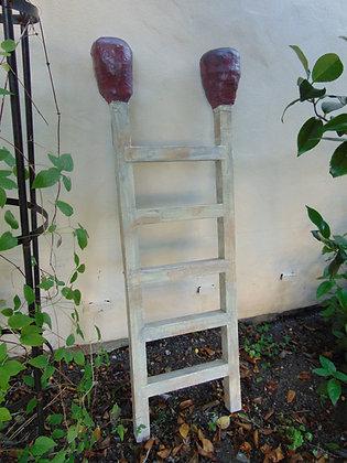 Oversized Matchstick Ladder