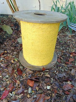 Oversized Yellow Cotton Reel