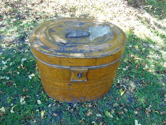 Tin Hat Box