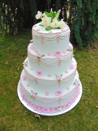 Prop Tiered Cake