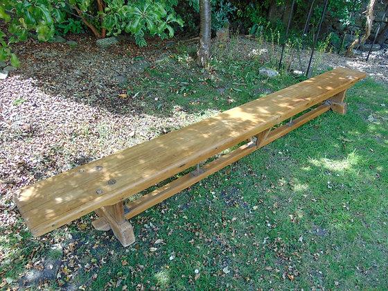 Pine Gym Bench 2