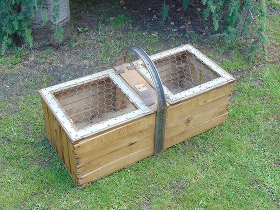 Wooden Chicken Carrier