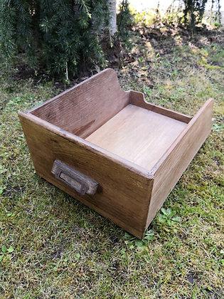 Open Wooden Drawer