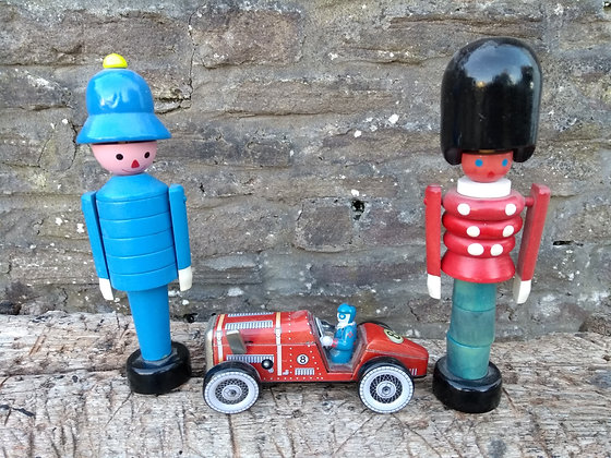 Vintage Style Wooden Toys