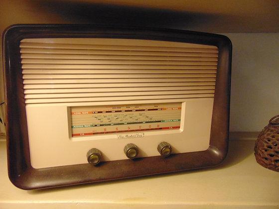 1950's 'His Masters Voice' Electric Radio