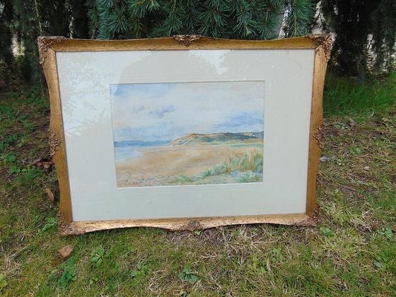 Vintage Style Seascape in Frame