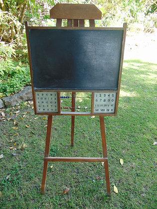 Blackboard with Abacus