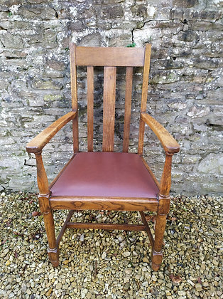 Carver Chair with Vinyl Seat