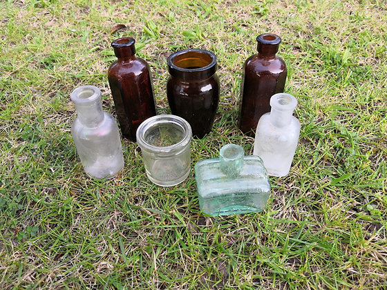 Small Glass Bottles