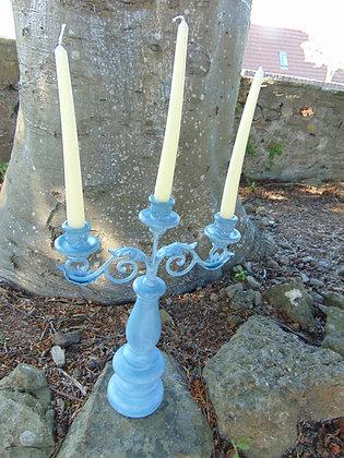 Blue Candelabra