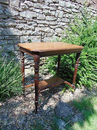 Mahogany Patterned Table