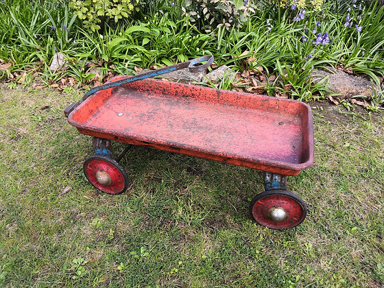 Vintage Child's Pull-along Trolley