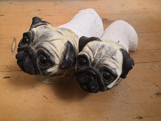 Prop Pug Dogs