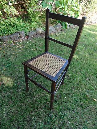 Mahogany Caned Chair