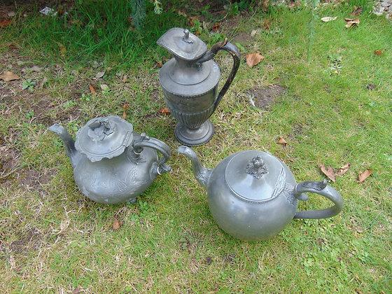 Metal Teapots, Kettles & Jugs