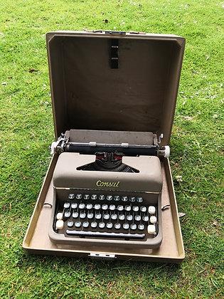1960's Consul Type Writer