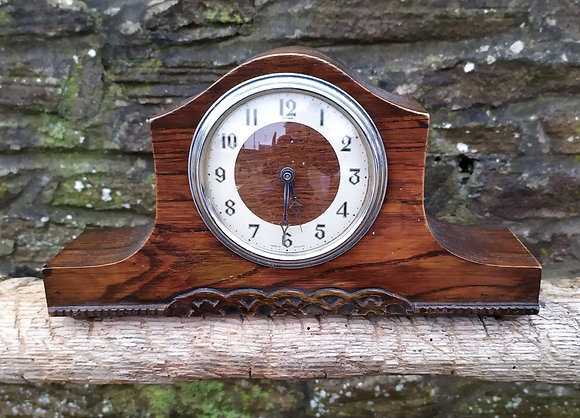 Vintage 1930's Wooden Clock