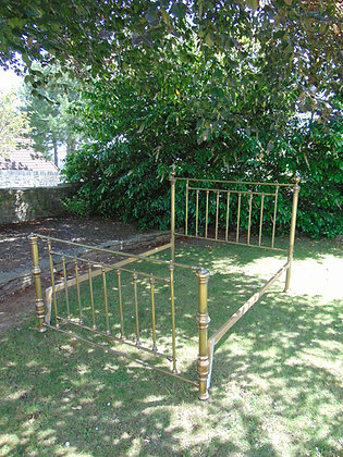 5ft Brass Bed