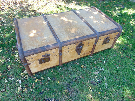 Large Wooden Trunk