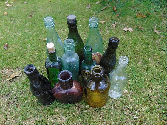 Selection of Vintage Bottles