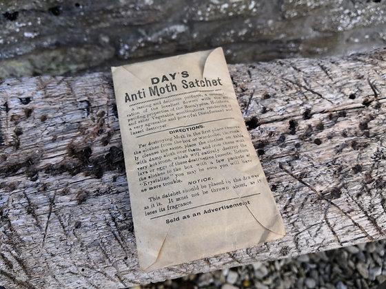 Vintage Anti Moth Sachet