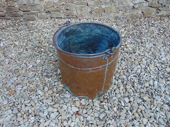 Brass Fire Bucket