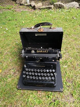 1920-30's Bar-Let Type Writer
