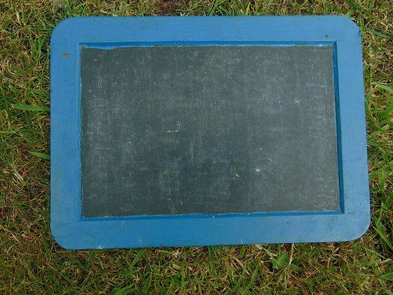Small Blue Chalkboard